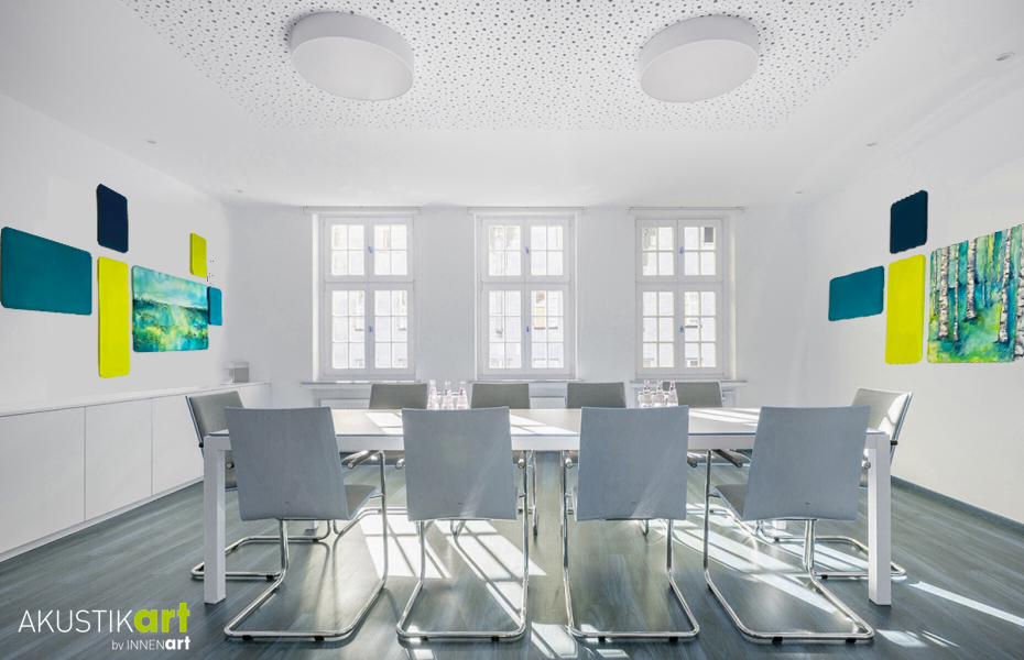 Akustik Gestaltung Konferenzraum