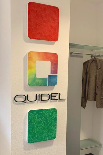 Akustikbilder Logo Quidel