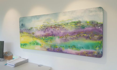 Akustikbild Lavendel